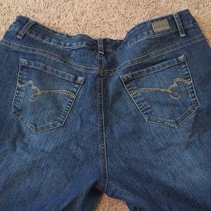 Bandolino Mandie Jeans size 16wshort